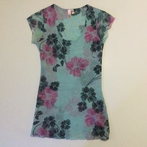 Sweet Pea Floral Print Top